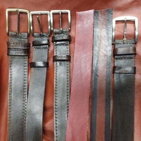 cinture personalizzate in cuoio