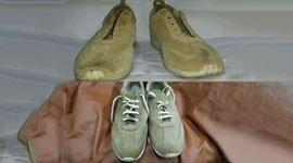 sostituzione suole, inserimento stringhe, modifiche calzature