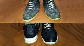 laboratorio artigianale, cucitura suola, manutenzione per calzature