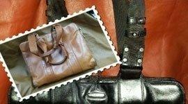 borse in pelle naturale, creazioni artigianali, confezionamento borse