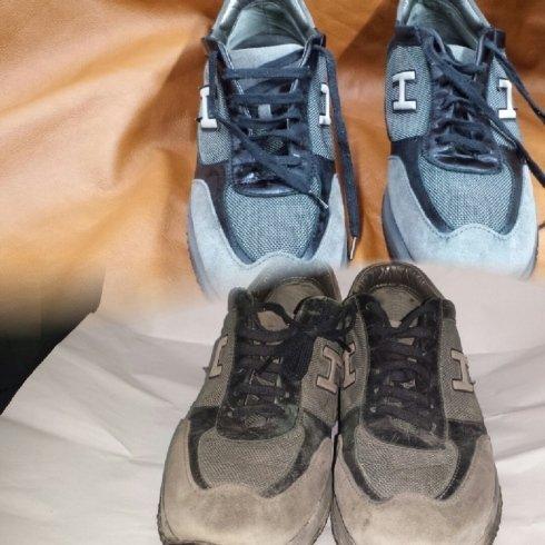 pulitura scarpa hogan