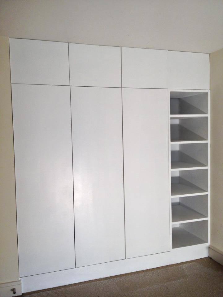 Clever Wardrobe storage