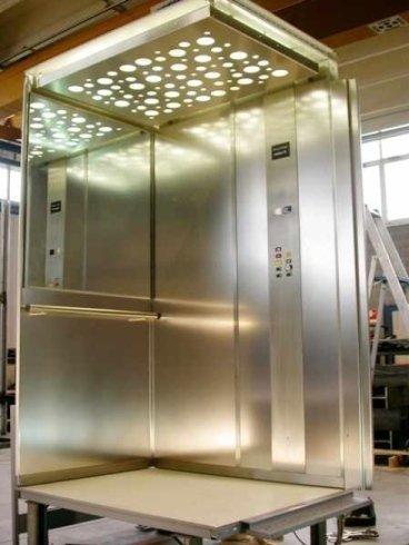 Realizzazione cabina ascensore