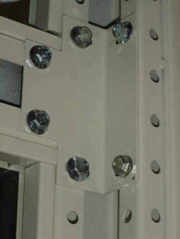 Congiunzione struttura metallica per ascensori