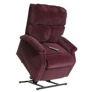 dark red coloured chair