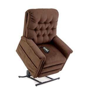 brown coloured chair