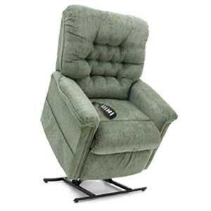 silver coloured chair