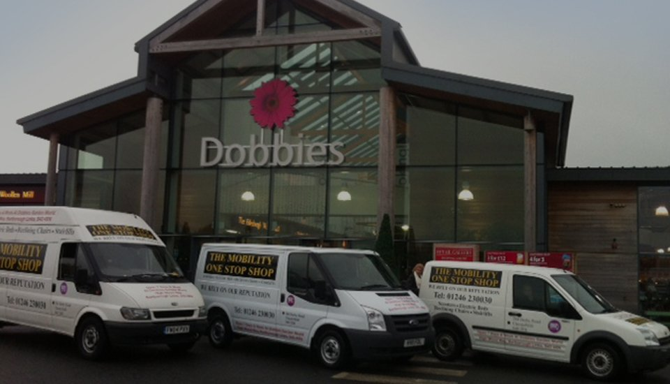 The Mobility one stop shop vans
