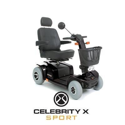 black large mobility scooter