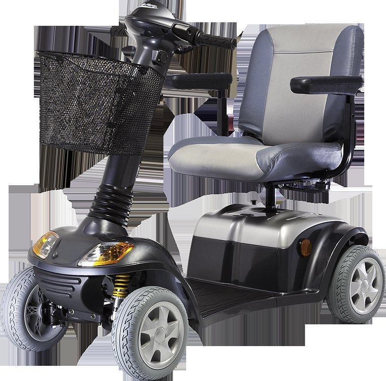 mobility scooter with suspension