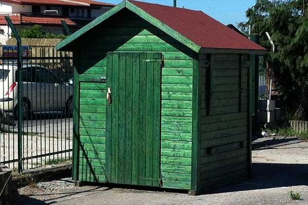 realizzazione casetta in legno bio ecologica