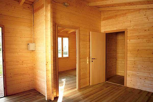 interni casa in legno eco biologica