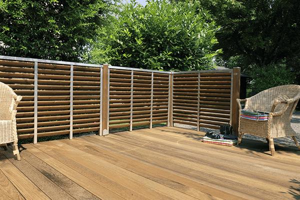 recinzioni esterne in legno