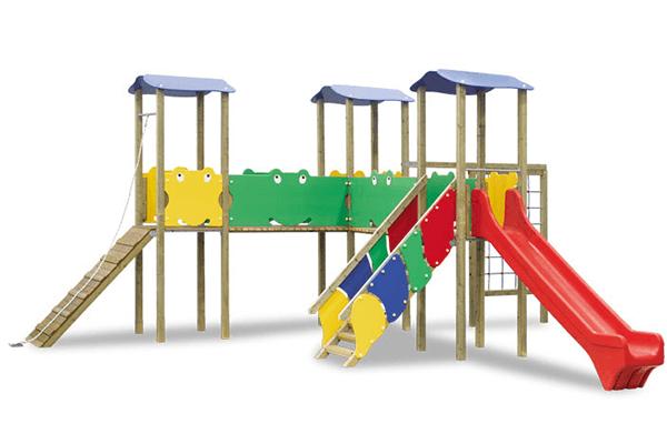 struttura di uno scivolo per bambini