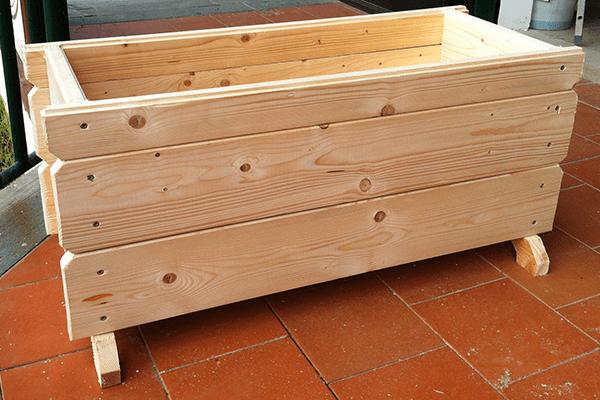 assi di legno in primo piano
