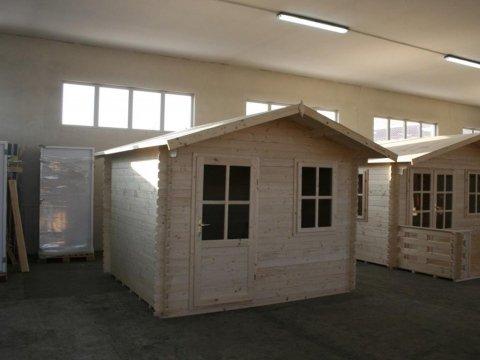 casetta in legno SPESSORE PARETE - 28 MM