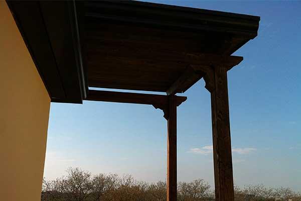tettoie in legno
