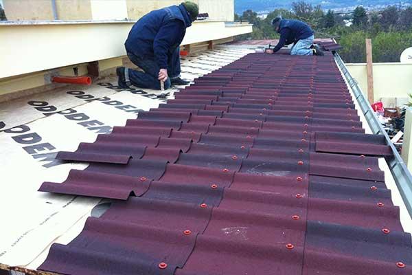 realizzazione coperture e tettoie