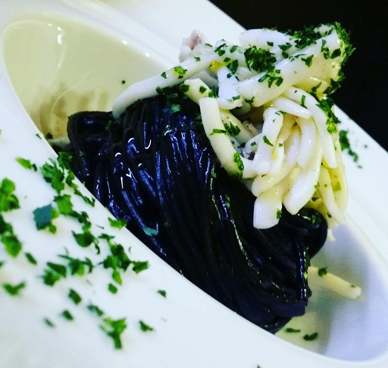Pasta al nero di seppie gourmet