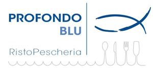 Profondo blu pescheria logo