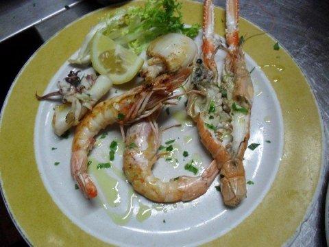 ristorante piatti di pesce
