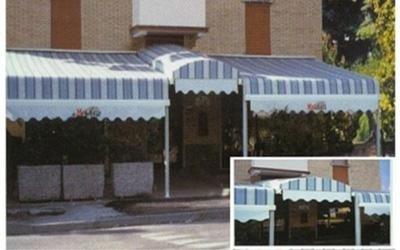 tenda per bar