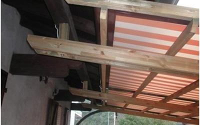 installazione coperture per esterno