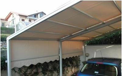 tenda per parcheggio