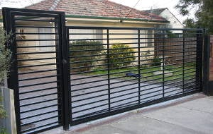 Secure gates for home and business