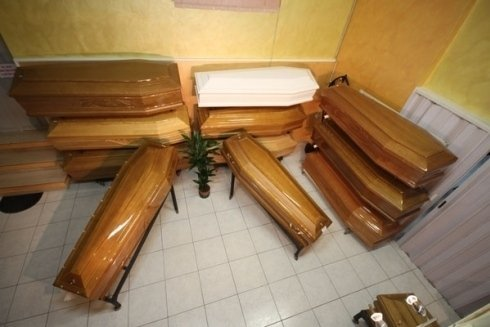 feretri sepoltura