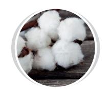palline di cotone