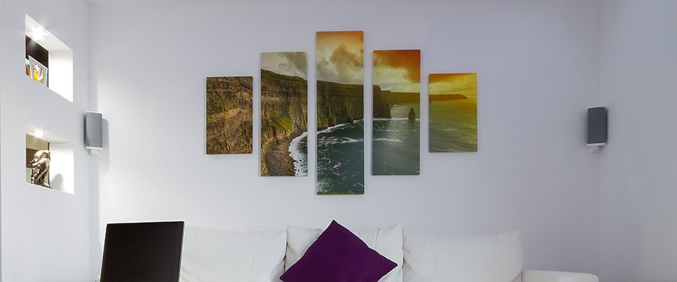 Custom picture frames and mounts in County Durham