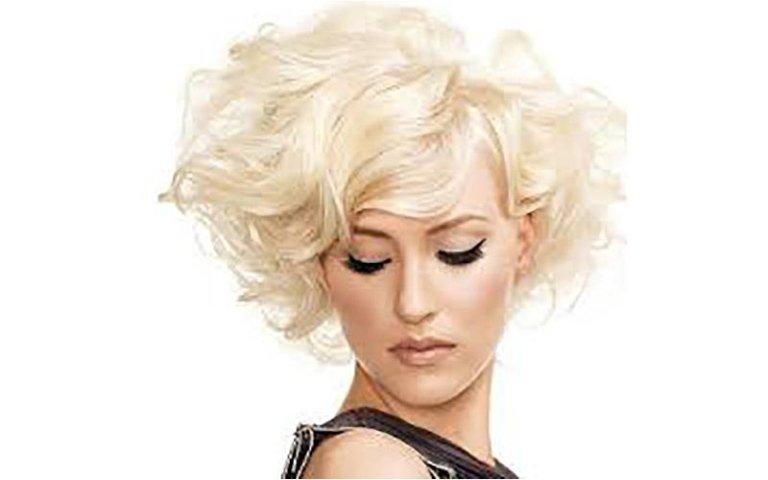 Colore biondo per capelli