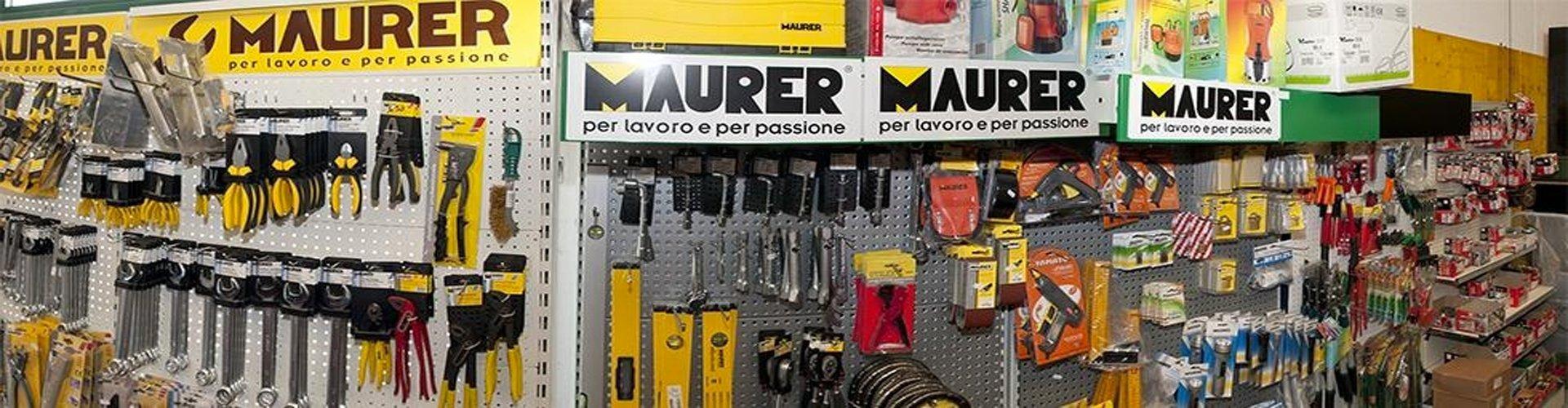 accessori e prodotti a marchio MAURER