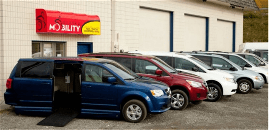 Access van sales in Alaska