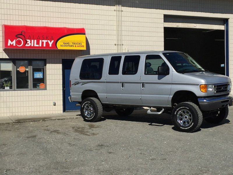 Alaska Mobility, LLC 2014 ADA Compliant Side Entry Entervan