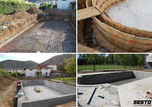 Quattro forme alternative di costruire una piscina
