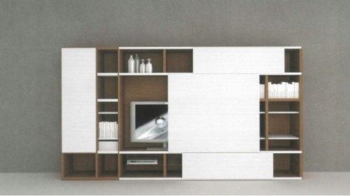 mobile sala con spazio tv