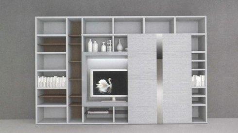 mobile sala bianco
