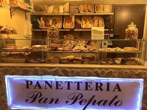 Vista della Panetteria Pan Pepato a Livorno
