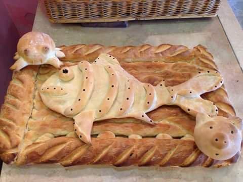 Biscotti nella forma degli animali a Livorno