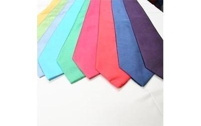 plain coloured ties