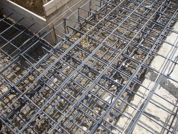 griglie per colata di cemento