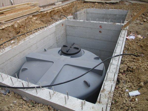 impianto idraulico interrato