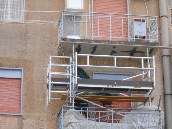 balconi in manutenzione