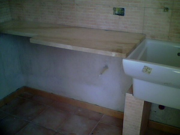 bagno in manutenzione