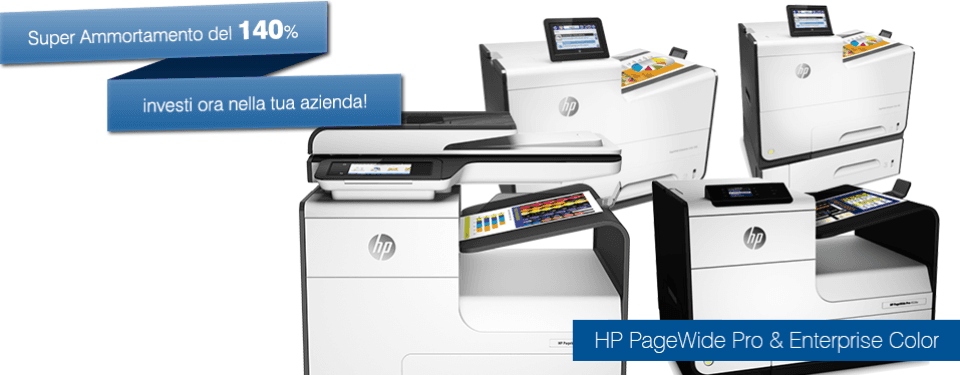 stampanti hp pagewide
