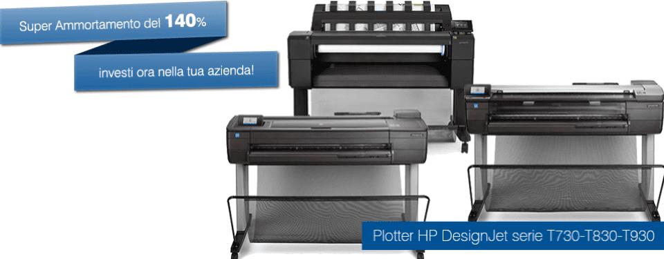 vendita plotter hp designjet