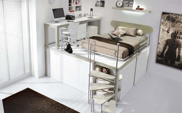 Cameretta con mobili di qualità