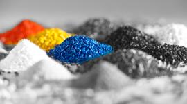 colorazioni, plastica colorata